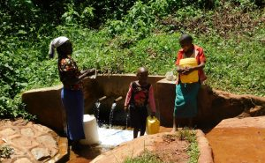 The Water Project:  Gushing Water