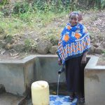 The Water Project: Shiyunzu Community, Imbukwa Spring -  Jackline Akola