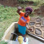 The Water Project: Musango Community, Ham Mwenje Spring -  Violet Seth