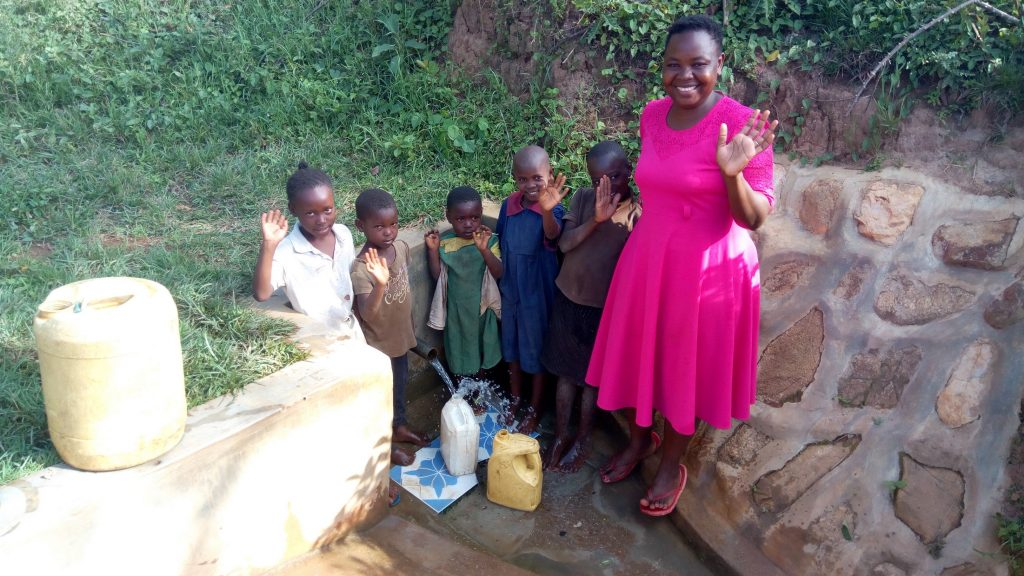 The Water Project : 1-kenya18118-all-smiles