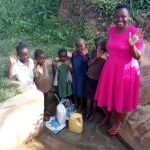 The Water Project: Ataku Community, Ataku Spring -  All Smiles