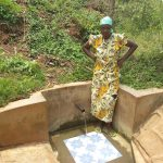 The Water Project: Sharambatsa Community, Mihako Spring -  Esther Luvale