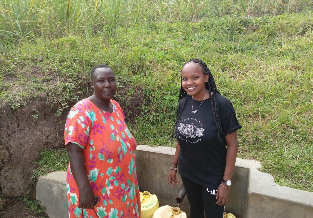 The Water Project : 1-kenya18150-jacklyne-shamaka-and-georgina