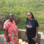 The Water Project: Futsi Fuvili Community, Simeon Shimaka Spring -  Jacklyne Shamaka And Georgina