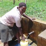The Water Project: Elukuto Community, Isa Spring -  Sabina Nawire