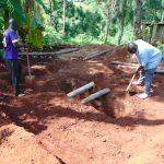 The Water Project: Kitumba Primary School -  Construction Begins