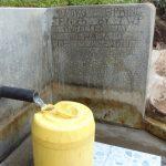 The Water Project: Mukoko Community, Mukoko Spring -  Water Flowing In June
