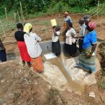 The Water Project: Wajumba Community, Wajumba Spring -  Spring Care And Water Handling Training
