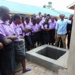 The Water Project: Namanja Secondary School -  Tank Care Training