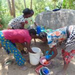The Water Project: Musango Community, Emufutu Spring -  Talking About Washing Dishes