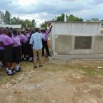 The Water Project: Namanja Secondary School -  Latrine Care Training