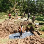The Water Project: Wajumba Community, Wajumba Spring -  Casting Slab