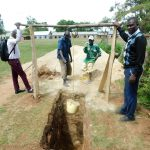 The Water Project: Ebutenje Primary School -  Digging Latrine Pit