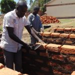 The Water Project: Namanja Secondary School -  Latrine Construction