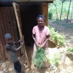 The Water Project: Musango Community, Emufutu Spring -  Broom Made Of Local Materials
