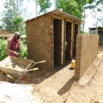 The Water Project: Ebutenje Primary School -  Latrine Construction
