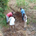 The Water Project: Musango Community, Emufutu Spring -  Spring Excavation