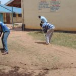 The Water Project: Namanja Secondary School -  Clearing Ground For The Tank