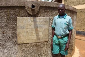 The Water Project:  Student David Mulira