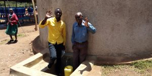 The Water Project:  Field Officer Erick And Peter