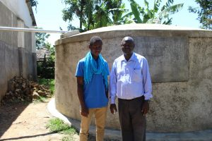 The Water Project:  Field Officer Ian With Mr Lwangu