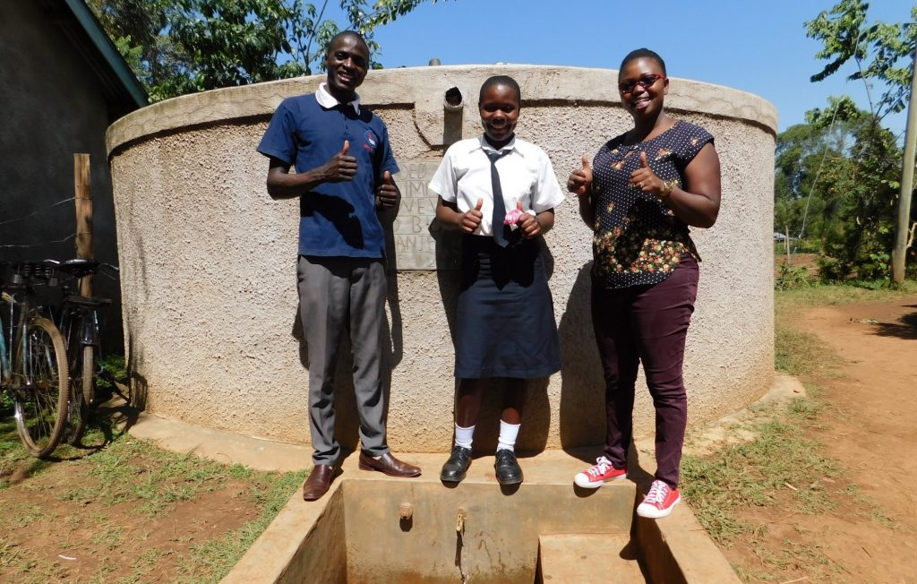 The Water Project : 2-kenya18037-smiles-for-running-water