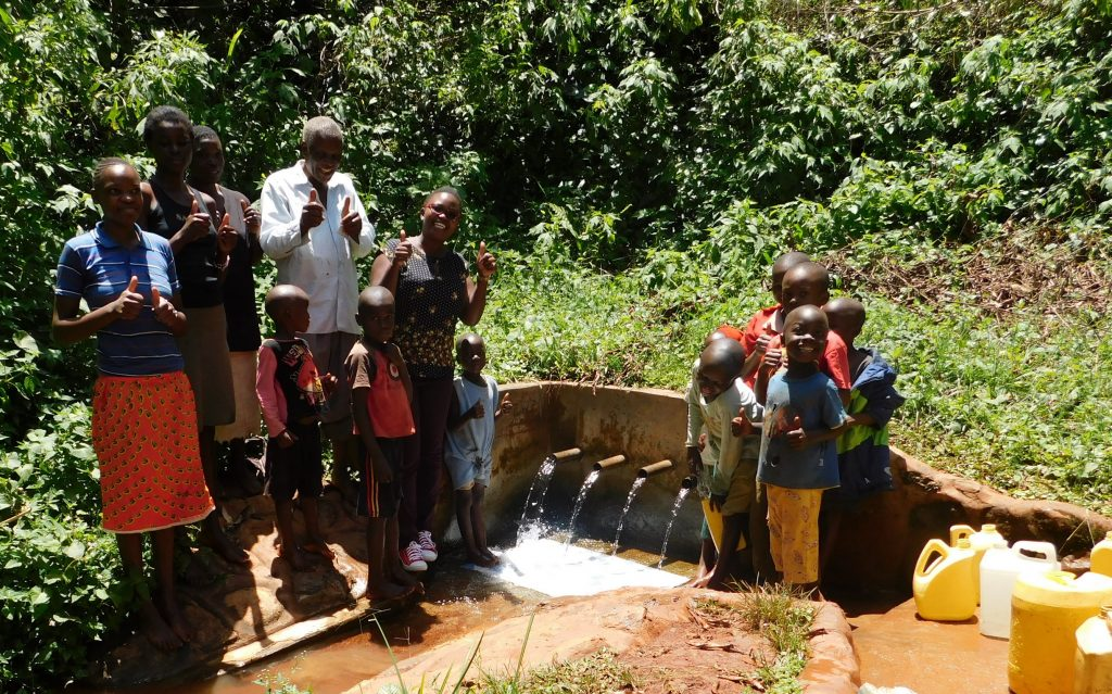 The Water Project : 2-kenya18090-amazing-discharge