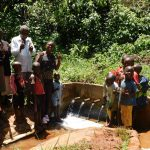 The Water Project: Shilakaya Community, Shanamwevo Spring -  Amazing Dischage