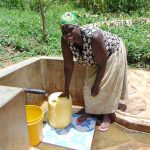 The Water Project: Ivulugulu Community, Ishangwela Spring -  Dora Mukabi