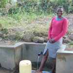 The Water Project: Shiyunzu Community, Imbukwa Spring -  Selfine Nanzala