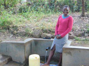 The Water Project:  Selfine Nanzala