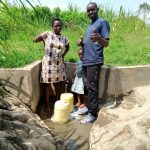 The Water Project: Musango Community, Dawi Spring -  Thumbs Up
