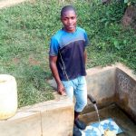 The Water Project: Ataku Community, Ataku Spring -  Charle Okute