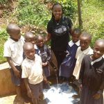 The Water Project: Sharambatsa Community, Mihako Spring -  Patience Luvale