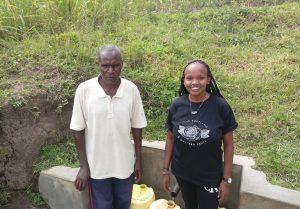 The Water Project:  Simeon Otundu And Georgina