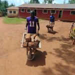 The Water Project: Kitumba Primary School -  Delivering Bricks