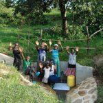 The Water Project: Mukoko Community, Mukoko Spring -  A Happy Community