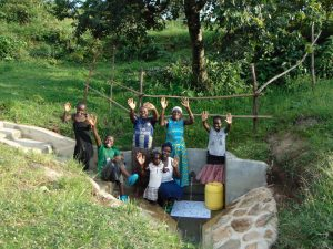The Water Project:  A Happy Community