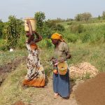 The Water Project: Musango Community, Emufutu Spring -  Carrying Sand