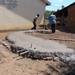 The Water Project: Namanja Secondary School -  Tank Foundation Construction