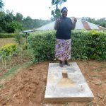 The Water Project: Wajumba Community, Wajumba Spring -  Sanitation Platform