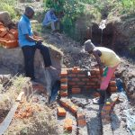 The Water Project: Musango Community, Emufutu Spring -  Brick Work
