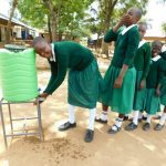 The Water Project: Ebutenje Primary School -  Handwashing Station