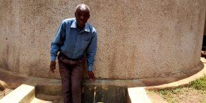 The Water Project:  Head Teacher Peter Oluchiri