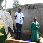 The Water Project: Erusui Girls Primary School -  Wilson And Mercy