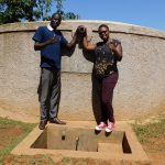The Water Project: Shanjero Secondary School -  Cyrus And Field Officer Jacklyne