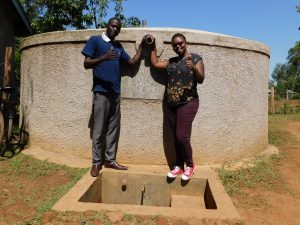 The Water Project:  Cyrus And Field Officer Jacklyne