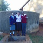 The Water Project: Imbale Secondary School -  Flowing Water