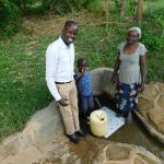 The Water Project: Shihingo Community -  Field Officer Jonathan Justin Lydia
