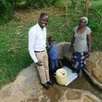 The Water Project: Shihingo Community, Mulambala Spring -  Field Officer Jonathan Justin Lydia